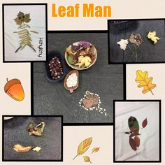 Inspired by Leaf Man. Some transient art