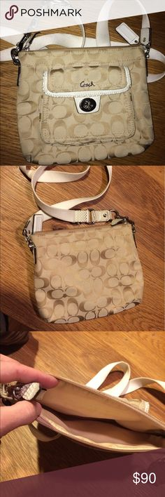 Coach Crossbody Bag Barely used Coach crossbody - in perfect condition Coach Bags Crossbody Bags