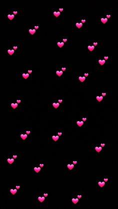 By Artist Unknown. Emoji Wallpaper Iphone, Cute Emoji Wallpaper, Phone Screen Wallpaper, Heart Wallpaper, Trendy Wallpaper, Tumblr Wallpaper, Cute Wallpaper Backgrounds, Love Wallpaper, Pretty Wallpapers