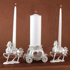Fairy Tale Candle Stand Set - Just bought along with the unity candle pinned earlier from David's Bridal! :)