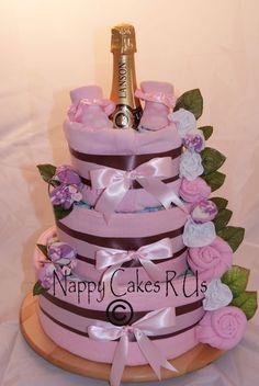 Luxury nappy cakes