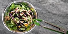 Mango Walnut Spinach Salad