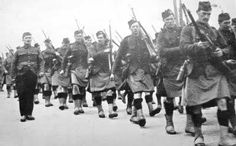 Territorial soldiers of the 51st (Highland) Division. 135 soldiers from the 51st Highland Division lost their lives in Bedford, England. Their killers were diseases that were unknown in their highland and island homes.