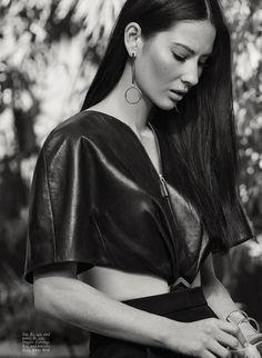 Olivia Munn Covers Fashion Magazine, Lensed By Max Abadian