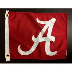 Flagpole To Go 14 inch x 15 inch Az Wildcats Golf Cart Flag, Red