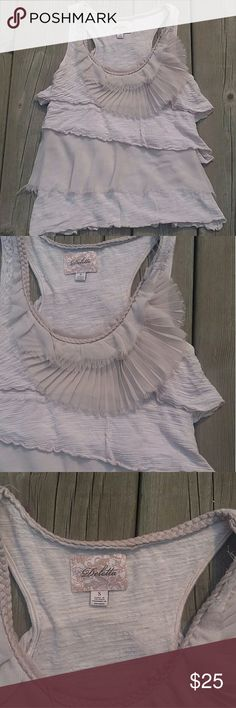 Anthropologie Deletta tank size small EUC Anthropologie Tops Tank Tops