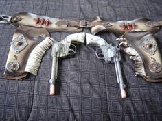 vintage cowboy holster gun set photos - Bing Images