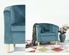 single sofa chair, living room or bedroom. Single Sofa Chair, Simple Furniture, Tub Chair, Accent Chairs, Armchair, Living Room, Bedroom, Design, Home Decor