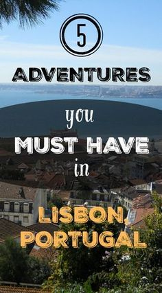 5 Adventures You Must Have in Lisbon, Portugal. Lisbon is a cultural wonder, yet besides fado, street art routes, literature, history and museums, there is also room for adventurous things to do in Lisbon. For its privileged geographical location offers us, adventure lovers, endless interesting activities. Read the full blog post at http://www.divergenttravelers.com/adventure-travel-lisbon-portugal/