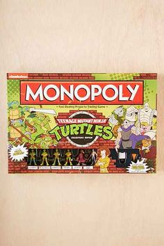 Teenage Mutant Ninja Turtles Monopoly Game - Urban Outfitters