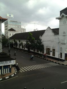 The old city of Bandung