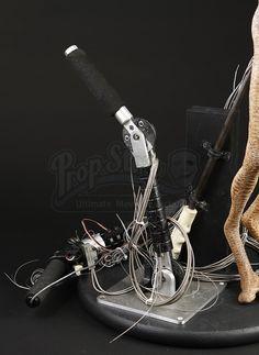 MEN IN BLACK II (2002) - Mechanical Worm Guy Puppet - Price Estimate: $2000 - $3000