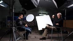Xavi, en la grabación del reportaje de la CBS. FOTO: MIGUEL RUIZ-FCB.