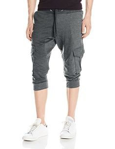Akademiks Men's Broome French Terry Cargo Pocket Jogger Short Akademiks broome french terry jogger short with pocket. Hot Outfits, Fashion Outfits, Style Masculin, Jogger Shorts, Running Pants, Mens Joggers, Yoga For Men, Shorts With Pockets, French Terry
