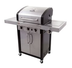 Professional Gas Grill with Side Burner