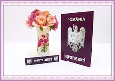 BebeStudio11.com - Invitatii Nunta si Botez: Invitatii Nunta Pasaport de Nunta Place Cards, Place Card Holders, Decor, Decoration, Decorating, Deco, Embellishments