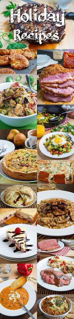 Holiday Recipes from Kevin Lynch, Closet Cooking - Several Low Carb recipes, also some can be easily tweaked such as the Roasted Cauliflower and Aged White Cheddar Gratin - so many tasty recipes in line-up!