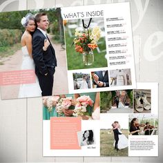 Photography Magazine Template Wedding Guide by BeautyDivineDesign