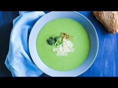 SUPĂ CREMĂ DE BROCCOLI I Rețetă + Video - Valerie's Food Supe, Bourbon, Ethnic Recipes, Youtube, Food, Bourbon Whiskey, Essen, Meals, Youtubers