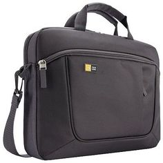 """Case Logic Carrying Case for 15.6"""" Notebook iPad Tablet PC - Anthracite"""