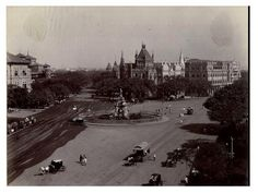 Flora Fountain, Mumbai, 1890