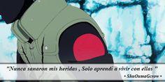 Nunca sanaron .  #ShuOumaGcrow #Anime #Frases_anime #frases