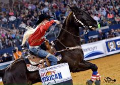 This girl is an inspiration. She was paralyzed in a car crash but continues to barrel race