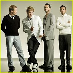 BACKSTREET BOYS. Yeah, I did. Ha! No Kevin, though. He was my favourite.