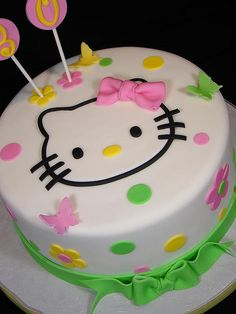 Hello Kitty taart