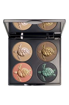 Chantecaille Sea Turtle Eyeshadow Palette - a portion of the proceeds go to sea turtle rescue efforts!