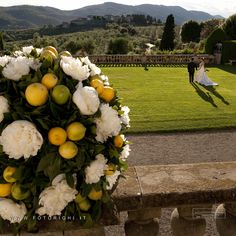 Large frescoed rooms, cellars and large gardens with stunning views, today make Villa La Ferdinanda, in Artimino (Florence), a unique stage to celebrate exquisite and elegant wedding receptions.  By nozzeintoscana.com  / http://www.studiofotograficorighi.it/