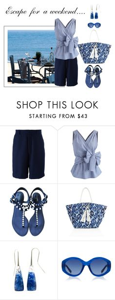 """""""Just Starting Out"""" by jjsunnygirl ❤ liked on Polyvore featuring AMI, Chicwish, Chanel, Melissa Odabash and The Row"""