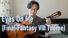 Eyes On Me (Final Fantasy VIII Theme) - Guitar (Fingerstyle) Cover Artwork Final Fantasy, Final Fantasy Vii, Faye Wong, Finals, Singer, Cosplay, Eyes, Cover, Guitar