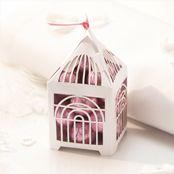Birdcage wedding favours