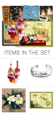 """Hawaii"" by miashespotatoes ❤ liked on Polyvore featuring art"