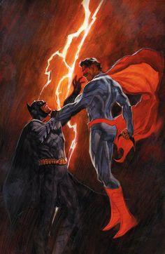 """DC Comics Unveils """"Batman v Superman"""" Variants for """"Wonder Woman"""" and """"Grayson"""" Superman Movies, I Am Batman, Batman Vs Superman, Superman Stuff, Superman Family, Marvel Comics, Dc Comics Art, Marvel Vs, Dc Comics Characters"""