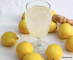 Lemon Ginger Detox Drink