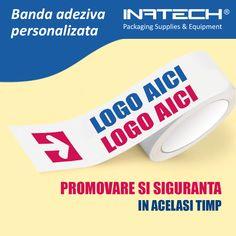 Banda adeziva personalizata, o metoda eficienta si foarte des utilizata pentru promovare. Orice colet expediat poate fi sigilat cu banda adeziva personalizata ce contine logo-ul companiei dumneavoastra.