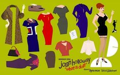 Mad Men Paper Doll