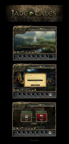 Jade Tales Facebook Game by karsten on deviantART