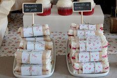 pistas para organizar una fiesta de cumpleaños infantil: sandwiches