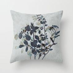 Undergrowth Throw Pillow by Terry Fan | Society6