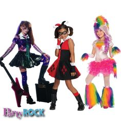 Costumes for Girls Party Rock Frisco TX Party Supplies