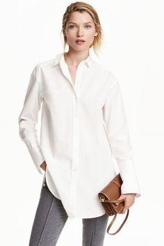 Chemise longue en coton | H&M