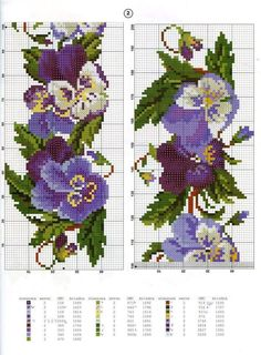 This Pin was discovered by Окс Cross Stitch Bookmarks, Cross Stitch Bird, Cross Stitch Flowers, Cross Stitch Charts, Cross Stitch Designs, Cross Stitching, Cross Stitch Embroidery, Hand Embroidery, Cross Stitch Patterns