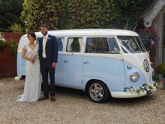 Classic 1960 VW campervan 'Lulu'. Beautiful wedding transport