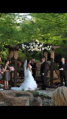 My dream garden wedding at The Dominion House in Guthrie.
