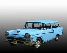 1958 Ford 2dr Ranch Wagon - Used to have one.