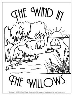 THE WIND IN THE WILLOWS ACTIVITY AND COLOURING BOOK on Behance | 305x236