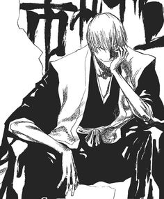 I wish we had more of Gin ichimaru in the anime, he didn't get hat much screen time but at least it wasn't as bad as tousen